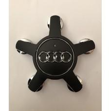 Audi -s csillag alufelni közép fekete 4F0601165
