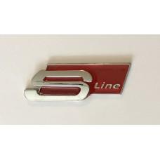 Audi S-line öntapados csomagtér felirat