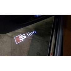 Audi -hoz LED kilépő fény - S-line