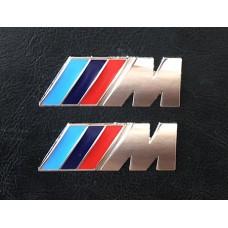 BMW -hez M-es jel sárvédőre párban