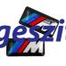 BMW -hez M-es szelepsapka + felni matrica szett