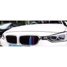 BMW F30 F31 -hez M műanyag vese klip szett 11 rácsoshoz