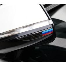 BMW -hez M -es karbon mintás tükörvédő