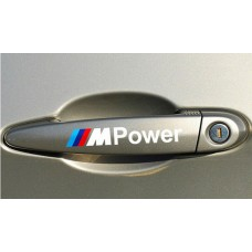BMW M Power matrica - fehér
