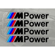 BMW M Power matrica - fekete