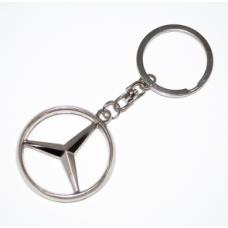 Mercedes -es fém kulcstartó