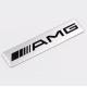 AMG alumínium dekorációs matrica felirat