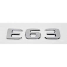 E63 öntapadós felirat
