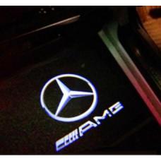 Mercedes AMG LED kilépő fény ajtóba