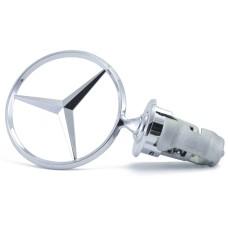 W126 Mercedes -hez csillag motorháztetőre