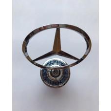 W 140 Mercedes -hez csillag motorháztetőre