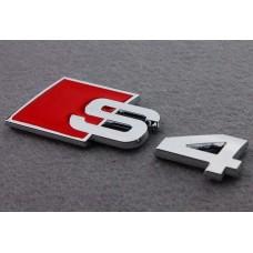 Audira S4 felirat, jel, embléma