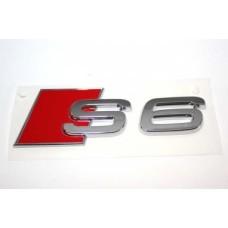 Audira S6 felirat, jel, embléma