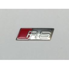 Audi hoz RS jelzés - ezüst színben