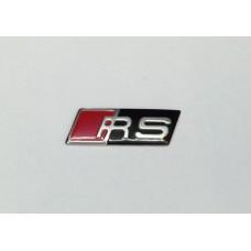 Audi hoz RS jelzés - fekete színben