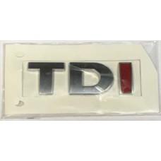 Audi - hoz TDI felirat piros I