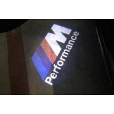 """BMW -hez LED világítás ajtóba """"M"""" -es"""