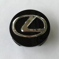 Lexus -hoz felni közép, kupak 62 mm-es fekete - 1db