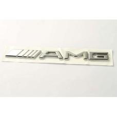 Mercedes -hez AMG felirat, jelzés