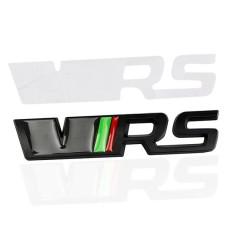 Skoda VRS felirat jelzés - fekete
