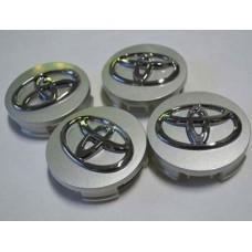 Toyota -hoz felni közép, kupak (62 mm) SZETTben